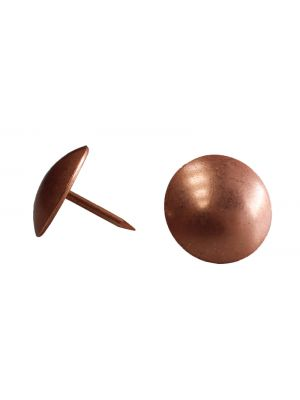 Copper Plated Upholstery Nails - 19mm