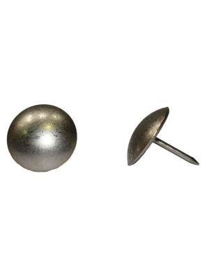 Decorative Tappezzeria Nails Pewter - 19mm