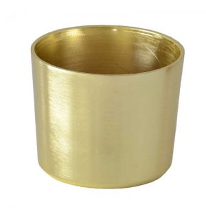 Cezanne Brushed Brass Leg Cup