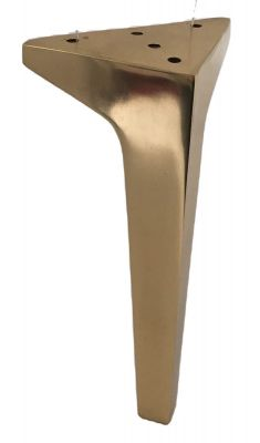 Elba Solid Brass Furniture Legs Short