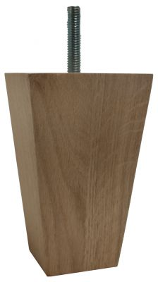 Fabiana Solid Oak Square Tapered Wooden Furniture Legs